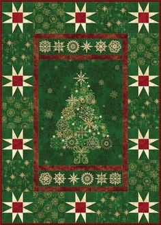 The Rushin' Tailor : All That Glitters Quilt Kit [77324] - $62.00
