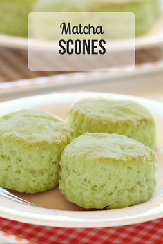 Make these matcha scones and keep them around the house for breakfast. Their aromatic smell and dimensional taste is perfect no matter what time of day it is