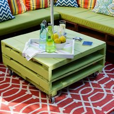 How to give your patio a facelift on a budget? That's easy. Use these awesome DIY pallet furniture ideas! Everyone needs #3 on this list - it's amazing!