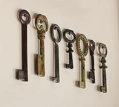 Keys, keys, keys.