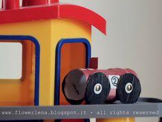Alta Priorità: macchinine con i rotoli della carta igienica  toilet paper cars