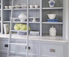 We adore this timeless and elegant piece of furniture by which looks ever so homely. Fitted with our Bromwich collection flush pulls in a polished nickel finish. Brass Cabinet Hardware, Other Space, Polished Nickel, Interior Inspiration, Bookcase, Shelves, Elegant, Nickel Finish, Furniture
