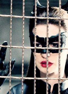 Anne Hathaway plays Cat woman in Batman