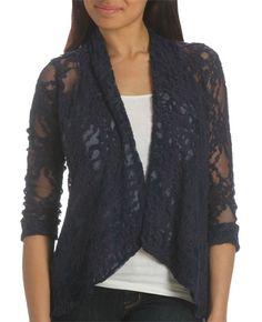 Lace Blazer - Dressy Tops
