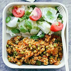 Clean Recipes, Veggie Recipes, Healthy Dinner Recipes, Diet Recipes, Vegetarian Recipes, Cooking Recipes, Pasta Dinners, Meals, Meat Diet