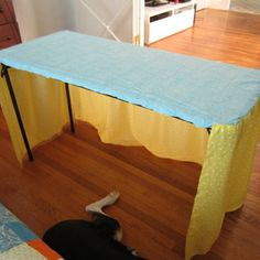 craft fair table cover