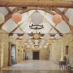 Soft and pretty - peach, white and cream lace lanterns with fairy lights @caswellhouse for a summer wedding #weddingdesign #uniquewedding #weddingdetails #weddingdecor #weddinggoals #weddingvenue #weddingbarn #oxon #weddingstyling #luxurywedding #weddingtrends