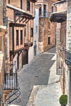 a street in in Palma de #Mallorca, #Spain.