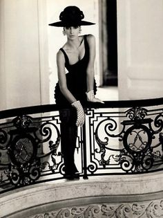 ".(The stair's balustrade from the movie ""Damage"" with my queen, Juliette Binoche)"
