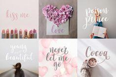 Calligraphy Script Font. Perfect for Feminine Blog Logos and Branding. Pendelton Script By Mellow Design Lab (affiliate)