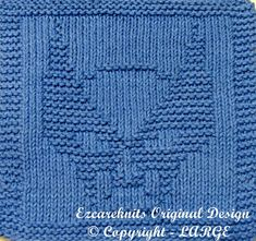 Knitting Cloth Pattern  WOLVERINE  PDF by ezcareknits on Etsy