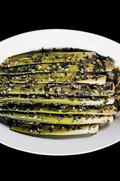 Leeks With Anchovy Butter Recipe - NYT Cooking