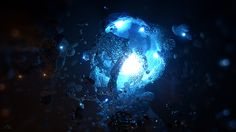 X-Particles Artwork III on Behance