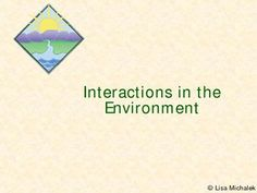 Interactions in the Environment - Ecology PowerPoint Presentation has 37 slides and covers the following topics: Populations & Communities, Properties of a Population, Carrying Capacity, Autotrophs, Heterotrophs, Producers, Herbivores, Carnivores, Predators, Scavengers, Omnivores, Decomposers, Symbiotic Relationships, Mutualism, Commensalism, Parasitism, Competition, Effects of Competition, Food Chains, Tropic Levels, Food Webs, Pyramid of Energy, Pyramid of Biomass, Material Cycles, Carbon-Oxygen Cycle, Water Cycle, Nitrogen Cycle, Ecological Succession, Primary Succession, Climax Communities, Ecosystem Stability. $5.50
