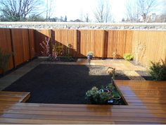 Western Red Cedar deck and fencing (before planting) Corner Deck, Cedar Deck, Western Red Cedar, Edinburgh Scotland, Small Gardens, Design Projects, Fence, Garden Design, Decking