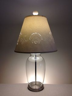 I Am Pleased To Offer A Fillable Lamp With A Cord That Comes Out Of The