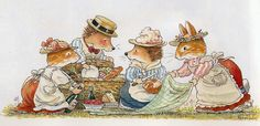 Picnic Time - Foxwood Tales by Cynthia and Brian Paterson