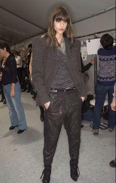 Isabel marant jacket and trousers @ wendelavandijk.com