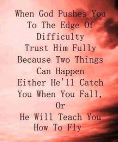 Trust Him Fully – Brilliant Life Quote