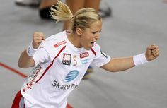 Heidi Loke, the best female handball player in the world