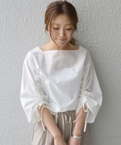 Swans Style is the top online fashion store for women. Classy Outfits, Chic Outfits, Casual Dresses, Fashion Dresses, Sleeves Designs For Dresses, Casual Tops For Women, Blouse And Skirt, Corsage, Blouse Designs