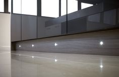 These 15mm clear plinth lights add subtle yet effective mood lighting to your kitchen. They can also be used in a bathroom. Choose from cool or warm white LED to suit the colour of your cabinetry.