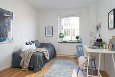 1000 images about chambre blanche et bleu canard on - Chambre bleu et gris ...