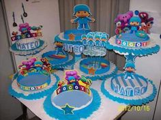 Imagem do Pin Mickey Mouse Birthday, 1st Boy Birthday, 3rd Birthday Parties, Birthday Cake, Ideas Para Fiestas, Animal Party, First Birthdays, Baby Shower, Candy