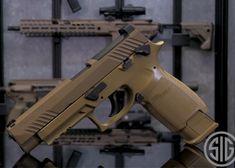 The Pistol Gets An Air Pistol Version. Where Is The Airsoft Version? Tactical Equipment, Tactical Gear, Firearms, Shotguns, Sig P320, Sig Sauer, Airsoft Gear, Custom Guns, Military Guns