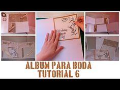 ÁLBUM DE BODA - PASO A PASO - TUTORIAL 6: PÁGINAS 11, 12 Y 13 - YouTube