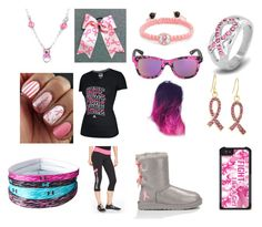 """""""Cancer Set"""" by kylee-bannister ❤ liked on Polyvore featuring West Coast Jewelry, UGG Australia, Ideology, adidas, Take-two, Under Armour and Italia Independent"""