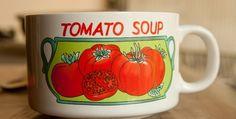 Tomato Soup with Dumplings
