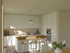render modellazione  Modellazione e Rendering di una cucina con isola