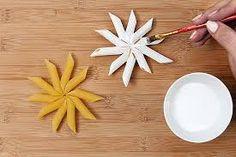 Resultado de imagen para manualidades con pasta de comer