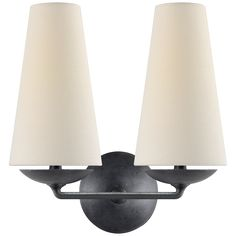 Fontaine Double Sconce Designer: AERIN