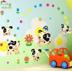 Fashion Cute Spongebob Wall Stickers For Kids Room Decor Stickers - Spongebob room decals