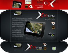 """Check out new work on my @Behance portfolio: """"X10 Note, DL Tablet"""" http://be.net/gallery/34500011/X10-Note-DL-Tablet"""