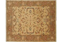 """Sultanabad-Style Rug, 8'2"""" x 9'8"""""""