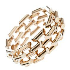TIFFANY & Co. Diseñador de oro amarillo Pulsera