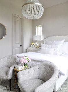 Beautiful all white bedroom makeover Top 10 of 2017