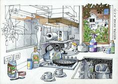 JR Sketches: Mi cocina, Paso a Paso