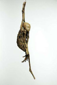 Jeanne Bouchart - Nest - 2009 - h: 42 cm - Unique piece-Bronze