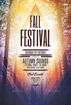 Fall Festival Flyer Template - http://ffflyer.com/fall-festival-flyer-template/ Enjoy downloading the Fall Festival Flyer Template created by StyleWish #Autumn, #Club, #Dance, #Dj, #Edm, #Electro, #Event, #Fall, #Nightclub, #Party, #Techno