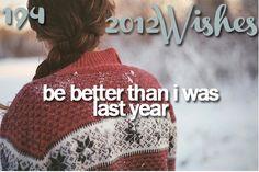 I hope I can be