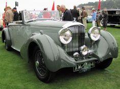 1934 Bentley 3 1/2 L Drophead coupe