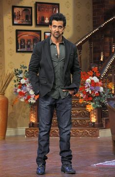 Hrithik Roshan was spotted at Comedy Nights With Kapil