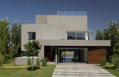 fachada moderna horizontal