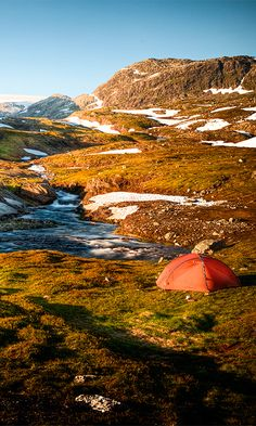 Hardangervidda National Park in #Norway