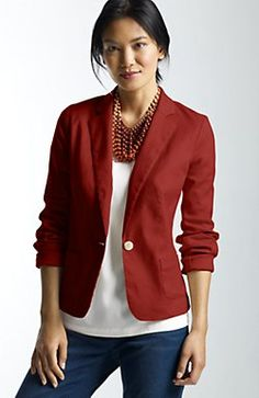 Shop for Linen & cotton stretch jacket by J. Jill at ShopStyle. Over 50 Womens Fashion, Fashion Over 50, Ladies Fashion, Trench Coats, Cool Outfits, Fashion Outfits, Fashion Trends, Fashion Ideas, Casual Outfits