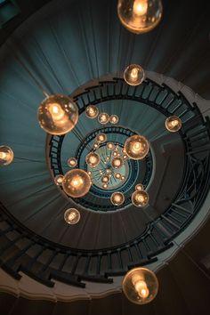 LIGHTS by Michal Dzierza Stairways, Space, Architecture, Mood Indigo, Lighting, Tumblr, Ideas, Design, Lima
